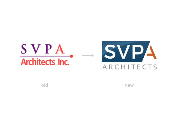 before and after screenshots of svpa logos