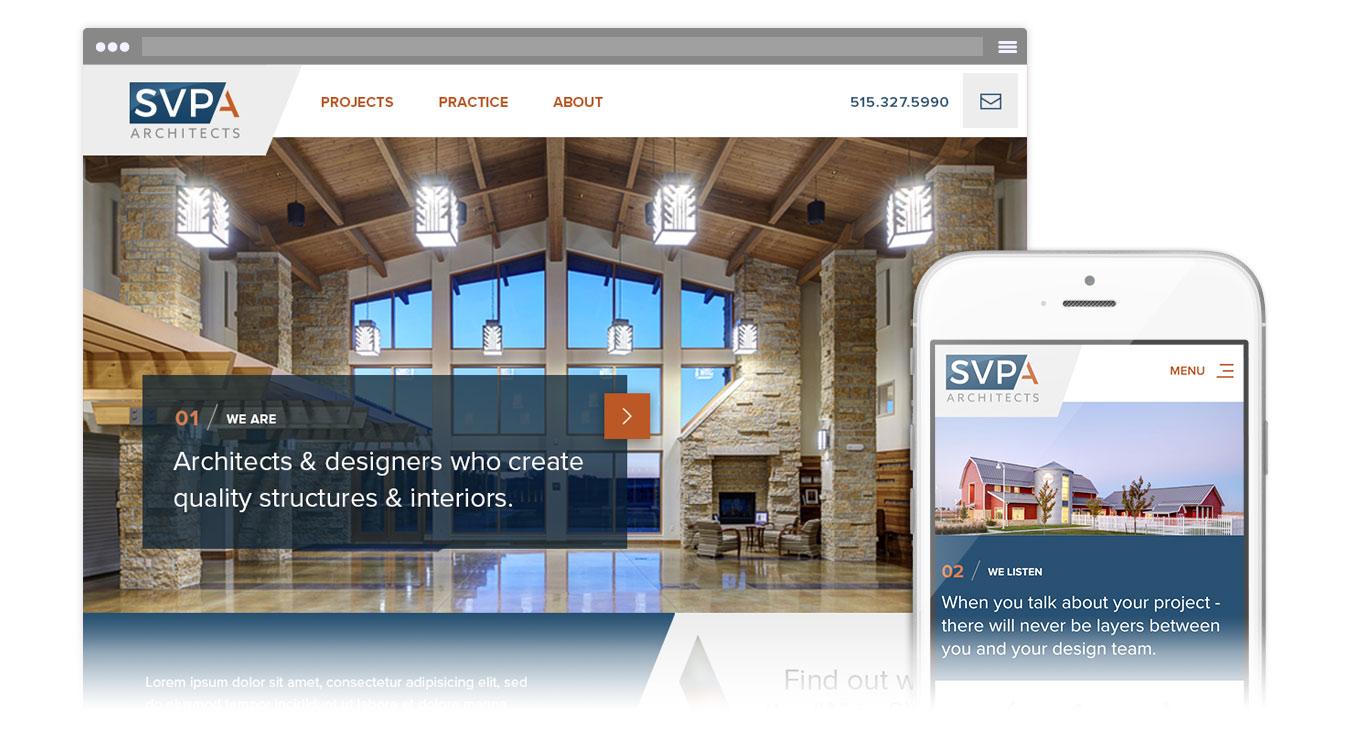 SVPA homepage