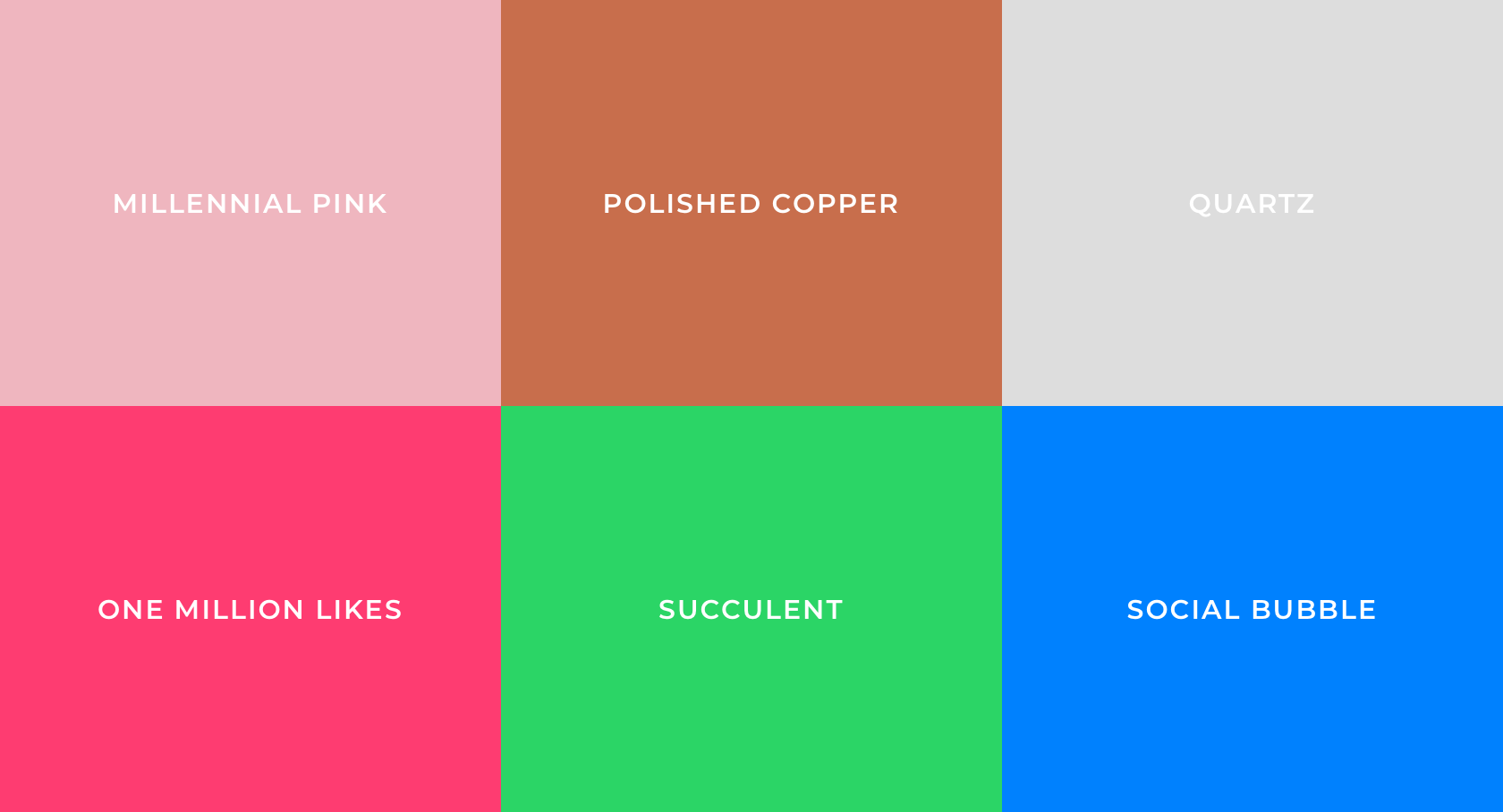 2010s Color Palette