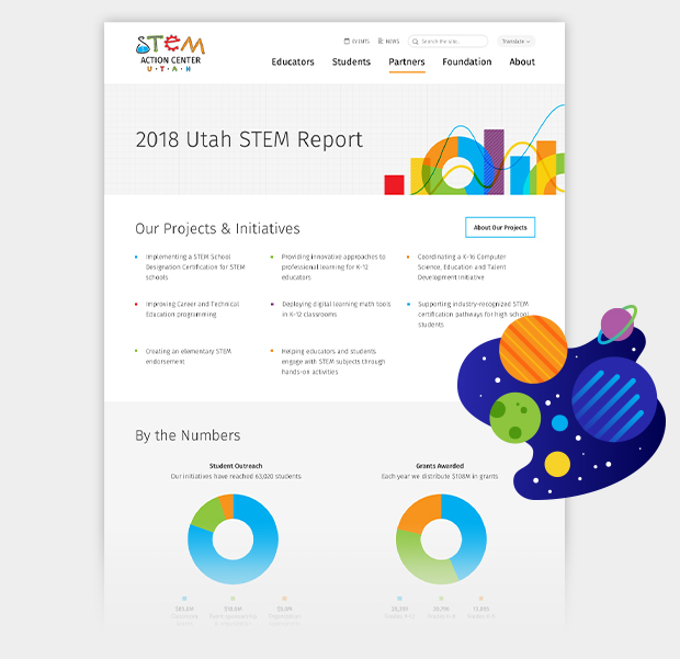 UtahSTEM Feature STEMReport