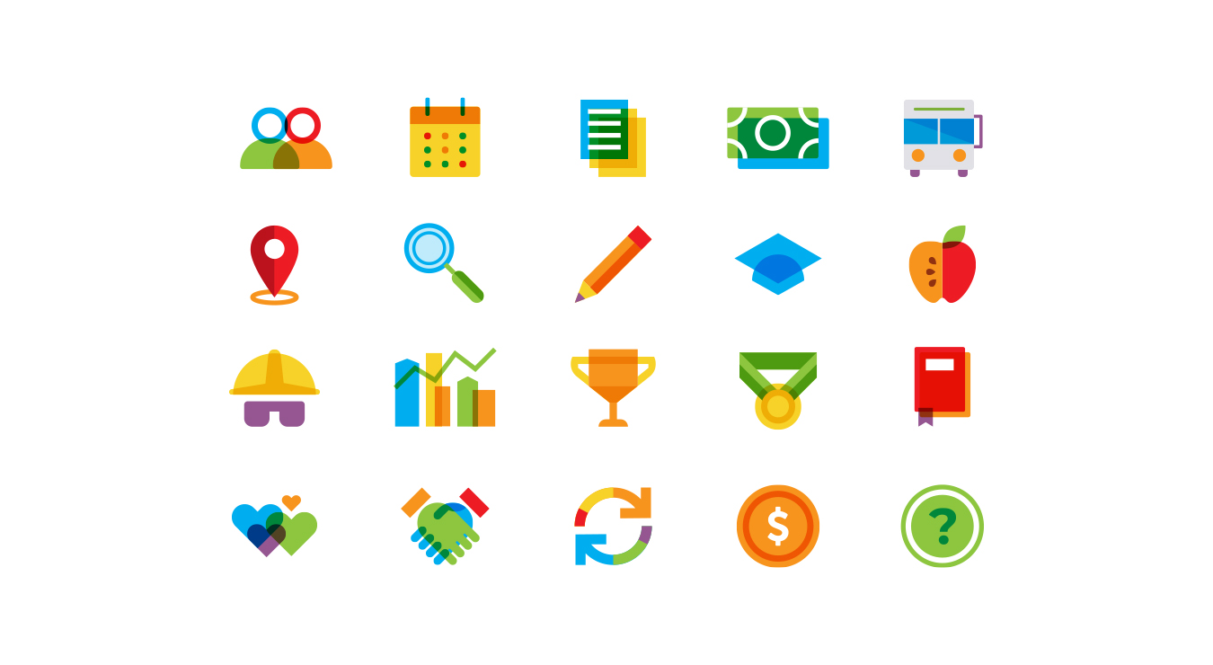UtahSTEM Slider Icons