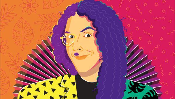 Weird Al Illustration