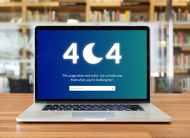 Luna 404 page